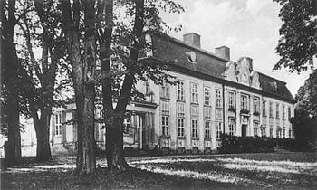 Das Barockschloss in Wildenhoff 1940