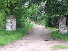 Reste von der Auffahrt zum Schloss Wildenhoff