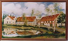 Der Bauernhof Kurt Schirmacher (Gemälde)