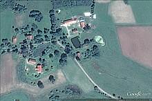 Worschienen aus der Luft (Aufnahme Google Earth)