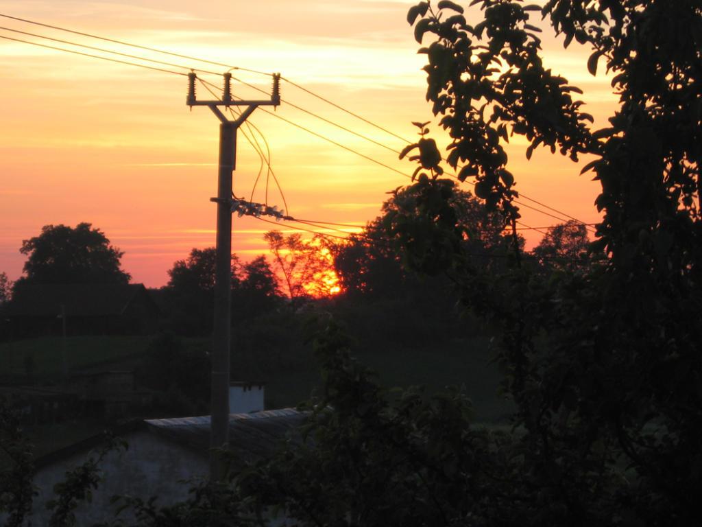 Sonnenuntergang in Canditten